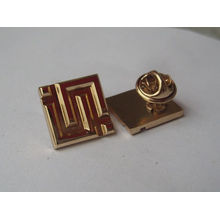 Китай оптовый металлический материал бабочка сцепления штырь отворотом