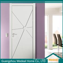 Porte intérieure de peinture blanche de haute qualité de composite