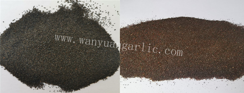 black garlic granules