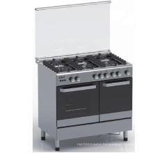 90*60 Six Gas Burner Electric Ignition Freestanding Oven