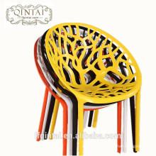 Modern nest hollow plastic restaurant dining leisure chair