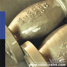 Axial Flow Type A216 Wcb Flanged Pn16&Cl150 Check Valve