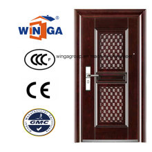 Porta de aço inoxidável de segurança competitiva de luxo (WS-117)