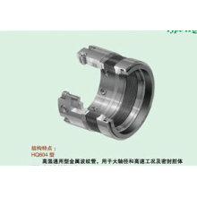 Selo Mecânico de Fole para Agente Cristalizado (HQ604 / 606/609)