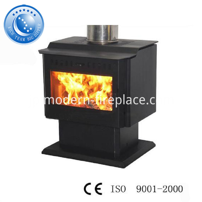 China Freestanding Steel Plate Fire Stove