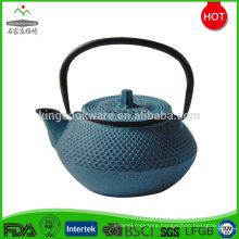 Hot selling customized enamel coated cast iron tea pot