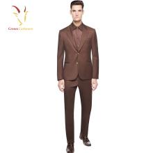 Traje de hombre personalizado para el traje de la capa de la moda del diseño de la boda