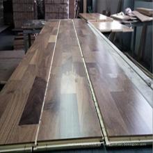 3 camadas 3 tiras revestimento de madeira de nogueira