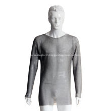 Steel mesh protective clothing
