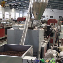 Decking WPC Profile Extrusion Line High Output Twin Screw Extruder