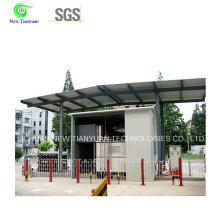 800-900m3min Volumen de gas Móvil de la estación de llenado de llenado de cilindro de gas