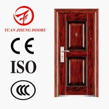 Nova porta de aço de segurança de design fabricada na China