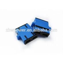 Alta Qualidade SC DX UPC Fibra Óptica Adaptador / Fibra Óptica Couple made in China