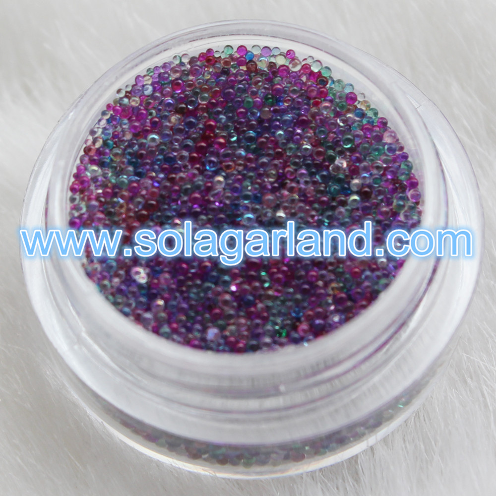 Nail Art Glass Beads