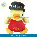 Plush yellow duck toys for promotion