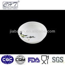 A072 hotel mini porcelain airline butter dish