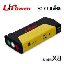 Promotion power bank 13600mAh multi-funcftion car jump starter for emergency Motorcycles / boat / cars