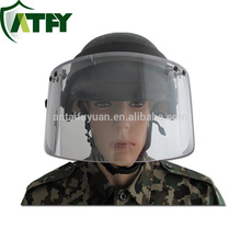 IIIA Military Tactical Open Face Helmet Ballistic Protective Visor,Ballistic Face Shield visor
