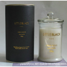Luxury Paraffin Scented Candle in Glass with Lid