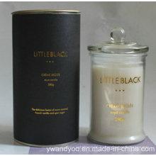 Роскошные Парафиновая ароматическая Свеча в стекле с крышкой