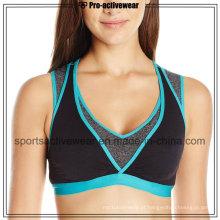 OEM Melhor Sublimação Custom Made Mulheres Sport Bra