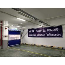 Interior High Speed Plastic Rolling up Door