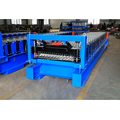 Ibr purlin roll forming galvanized roofing sheet machine