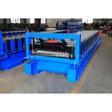 Máquina formadora de chapa de techo de acero trapezoidal galvanizada