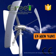 Kleine Vertikalachsen-Windkraftanlage für den Heimgebrauch