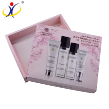 Customized Logo!Cardboard Cosmetics Set Gift Box Packaging with Lid