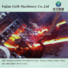 Máquina de fundição contínua (CCM) para fabricação de aço