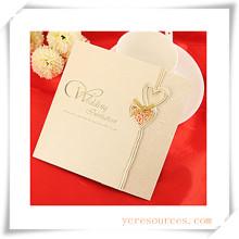 Tarjetas de felicitación Invitación de boda para regalo promocional (OI39002)
