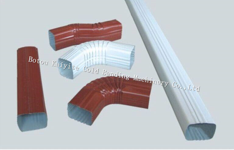 rain pipe downspount making machine