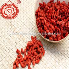 China certificó la fruta seca orgánica de la baya de goji con el certificado kosher del gusto dulce