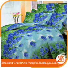 Queen size flowers design 3d bedding sheet set for wholesale
