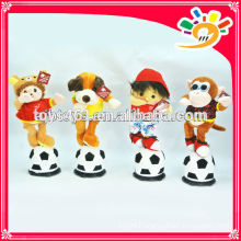 2014 New B/O toys World Cup Football dancing doll with music