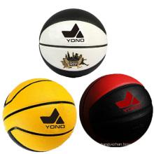 Basquete barato do couro do basquetebol do plutônio da melhor qualidade de Guangzhou YONO no basquetebol feito sob encomenda do volume