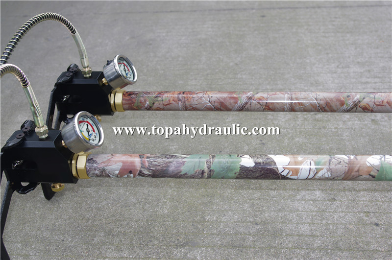 foldable high pressure air pump for airguns