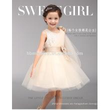 vestido de chica-fiesta-vestido-occidental-vestido de niña de 3-5 años al por mayor