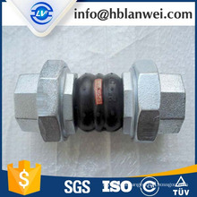 thread union rubber expansion joint