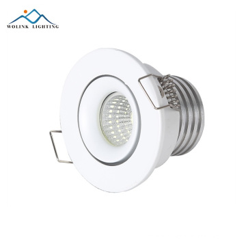 Indoor House SMD Intumescent Cover Illumination Black Box LED Downlight