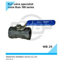 """Válvula de bola Monoblock A216 Wcb 3 """"1000 Wog"""