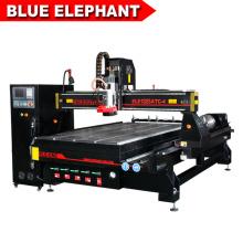 Jinan chaud modèle 1325 cnc routeur machine de coupe mdf conseil bois pour l'industrie des machines à bois