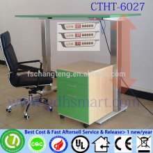 Ergonomic furniture electric adjustable height tables with 2 aluminum alloy legs