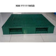 Paleta de plástico ligera de alta calidad 1100 * 1100 * 150