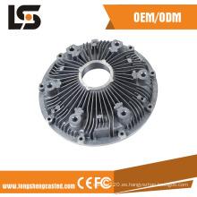 Disipador de calor de aluminio que contiene la fabricación de la vivienda de iluminación LED