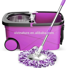 Easy Press Stainless Steel spin Mop