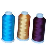 Comercio al por mayor de High Tenacity 100 Polyester Embroidery Thread