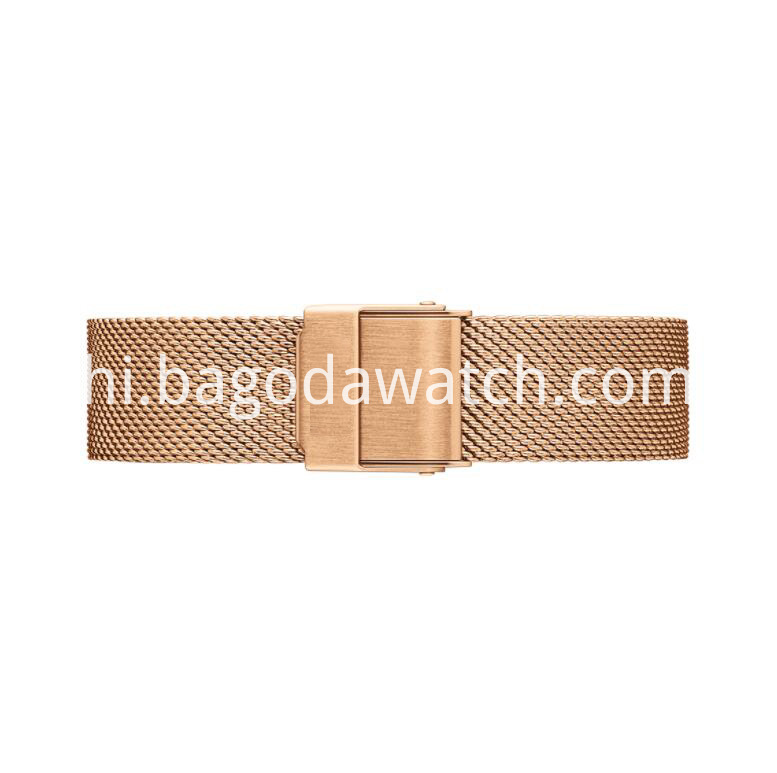 Mesh Steel Band Watch