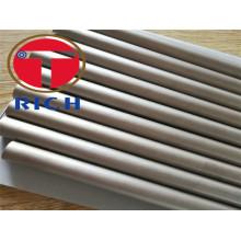 Tubo de titanio Gr12 para tubo de escape del automóvil